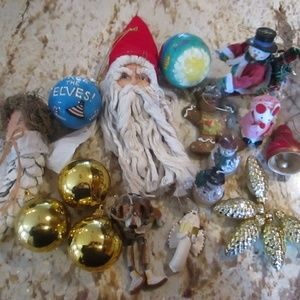 Other - LOT OF VARIOUS BEAUTIFUL CHRISTMAS ORNAMENTS